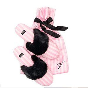 Victoria's Secret Signature Satin Slippers 9/10